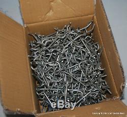10 Lb Lot Heavy Store Garage Peg Board Metal Hooks Small