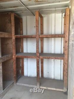 10 X 8 shipping container, Site Store, Motor Bike Garage