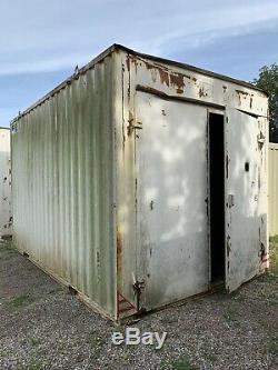 16ftx10ft Storage Container Car Garage Portable Workshop Site Store Anti Vandal