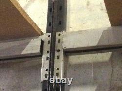 2 Bays of Pallet Racking 4.5 meter run 2.4 meters high Shelving/Garage/Store