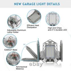 2pcs LED Light Bulb 150W 15000ml Home Office Store Indoor Outdoor Silver