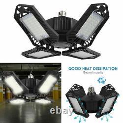 2pcs LED Workshop Light Bulb 150W 15000ml Home Store Indoor Outdoor Black