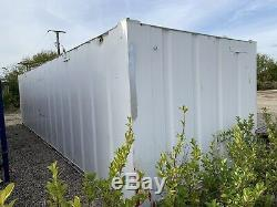 32ft Portable Storage Container Site Store Garage Workshop Anti Vandal Storage