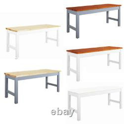 3FT Wooden Bench Dining Table Seat Chair Shop Store Display Shelf Rack Stand UK