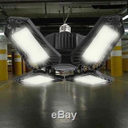 4pcs LED Workshop Light Bulb Foldable Lamp 150W 15000ml Vintage Style Store