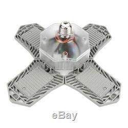 4x LED Workshop Light Bulb Deformable Ceiling Fixture Lights 150W Home Store