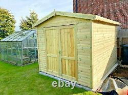 Apex Workshop Shed Storage Heavy Duty Garden Building Tool Store Wooden Garage