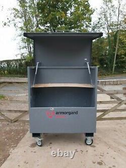 ArmorGard TuffBank Site Store tool box van garage complete with key £350+vat E8