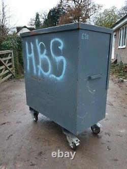 ArmorGard TuffBank Site Store tool box van garage requires locks £275+vat E20