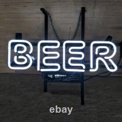 Beer Store Neon Lamp Sign 14x6 Bar Lighting Garage Cave Pub Wall Artwork
