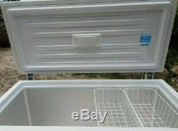 Beko CF1300APW Chest Freezer White Store it in your garage huge 374 litre