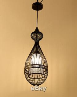 Cage LED Chandelier Lighting Furniture Store Club Clothing Store Pendant Lamp