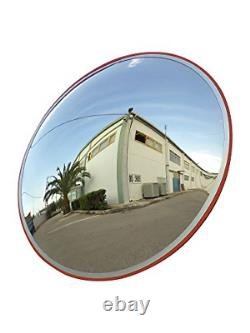 Convex Traffic Mirror 24 for Driveway, Warehouse and Garage Safety or Store and