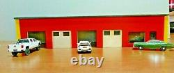 Custom 1/43/48 Scale 4 Bay Garage/Station/Office/Store/Firehouse 6 x 19