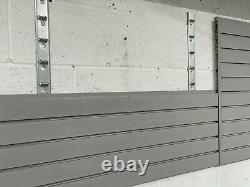 DURA STORE PANEL DURA Fitted garages Wall Panel. Cost £240 Plus Brackets