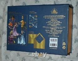 Disney Store Princess Collection Midnight Masquerade Stationary Notecards