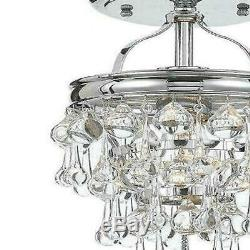 European style Restaurant Coffee Clothing Store LED Crystal Ceiling Lamp Light