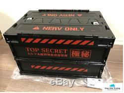 Evangelion Nerv Headquarters TOP SECRET Folding Container Eva Store Limited