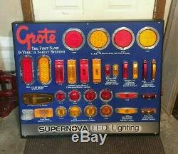 GROTE 00830 Vehicle Stop Turn Tail LED LIGHT Store DISPLAY Board Man Cave GARAGE
