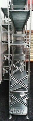 Galvanised Warehouse Store Garage Container Pallet Racking 120cm X 40cm X 250cm