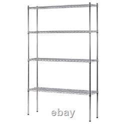 Garage Store Shelf 48 in. X 74 in. X 12 in. 3200 lbs. Capacity Stainless Steel