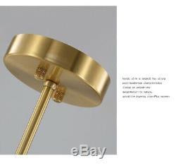 Glass Restaurant Chandelier Light Golden Store Pendent Lamp LED Bedroom Lighting