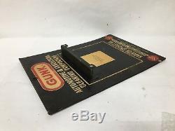 Gunk Degreaser 13in Vintage Display Advertising Rack Garage Store Promo Logo Ad