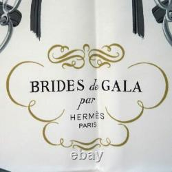 HERMÈS Carre 90 Large Scarf Bride De Gala Bridport Garage Nameya Store