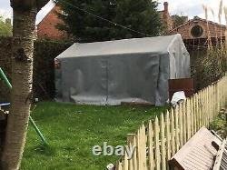 Heavy Duty Portable Garden Store. Garage for Mobility Scooter, Bikes, Mower, Hay