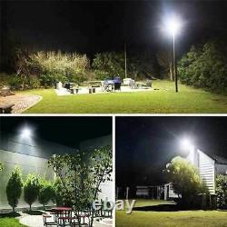 High Lumen LED Flood Light Cool White Outdoor Garage Warehouse Retail Store US