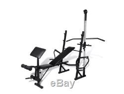Home Garage Fitness Workout Bench Home Gym Store Away Padded Cushioned Exercise