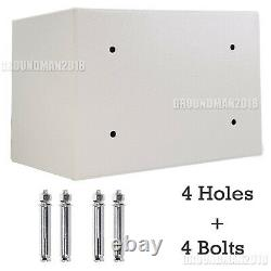 Home Storage Tamper-proof Safe Security Box Chest Fireproof Lock Resistant Store