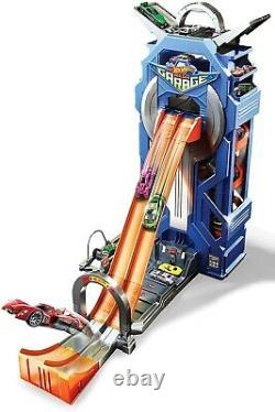 Hot Wheels City Mega Garage Playset Ages 5+ Toy Car Race Play Store Gift Tower