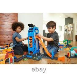 Hot Wheels Mega Garage Kids Boys Playset Toy 1 Vehicle Store up to 35 cars