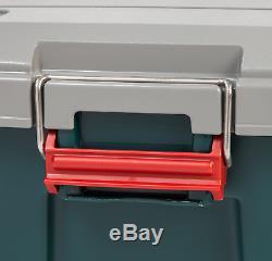 IRIS USA SIA-760D Store-It-All WEATHERTIGHT Totes, 82 Quart, Green/Gray/Red
