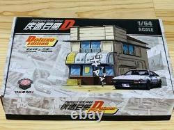 Initial D Garage Diorama Fujiwara Tofu Store 1/64 Minicar