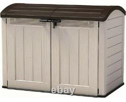 KETER Store-It-Out Ultra Outdoor Garden Storage Shed Garage Utility Bikes Large