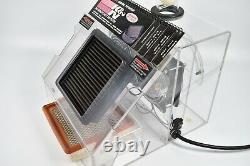 K&N Air Filter Store Demo Machine Ball Air Flow Display Gas Oil Garage Man Cave