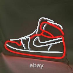 LED Shoes Neon Light Sign Sneaker Lighting Board Display For Store Home Decor