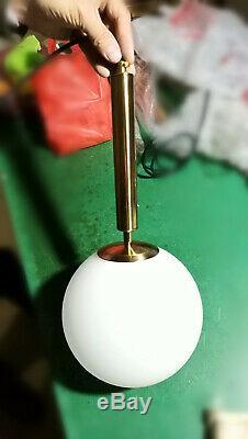 LED White Glass Chandelier Pendant Store Lamp Lighting Ceiling Light Bar Fixture