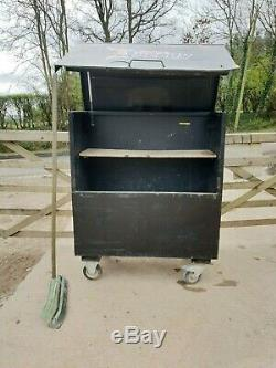 Large Black Site Store tool box van Truck Garage Requires attention £140+vat A12