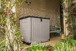Large KETER PRO Store 4x5 FT Outdoor Garden Storage Shed Garage Backyard Bikes