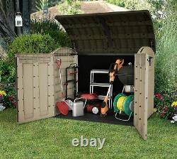 Large KETER Ultra 6x4 FT Store Outdoor Garden Storage Shed Garage Utility Bikes