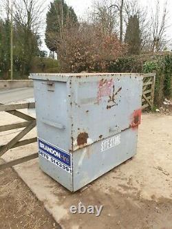 Large Site Store safe tool box van vault garage, Needs locks NO KEY £280+vat E49