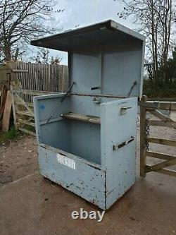 Large Site Store safe tool box van vault garage Workshop with Key £300+vat E33