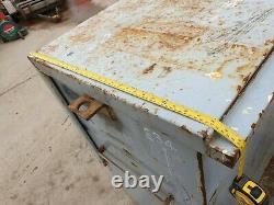 Large Site Store safe tool box van vault garage Workshop with Keys £350+vat E34