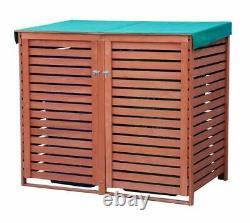 Large Store Outdoor Garden Storage Shed Garage Brown