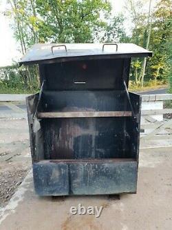 Large Store safe tool box van vault garage Workshop needs attention £95+vat D10
