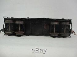 Marklin 2933 1 Gauge Tin Plate Flat Car America Garage Department Store B64-72