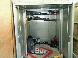 Motorcycle Mk 250w Bike Store Secure Motorcycle Garage / Store